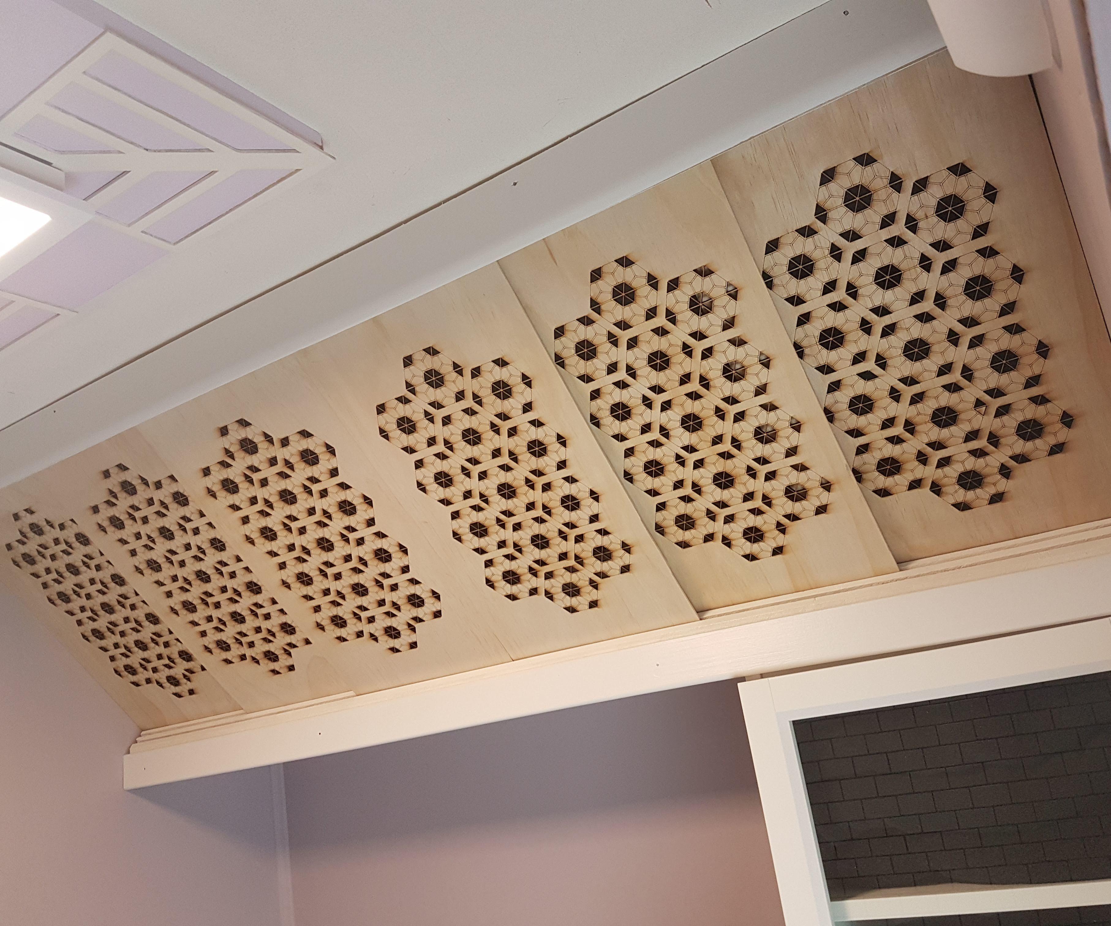 Angled Sliding Door Cabinet