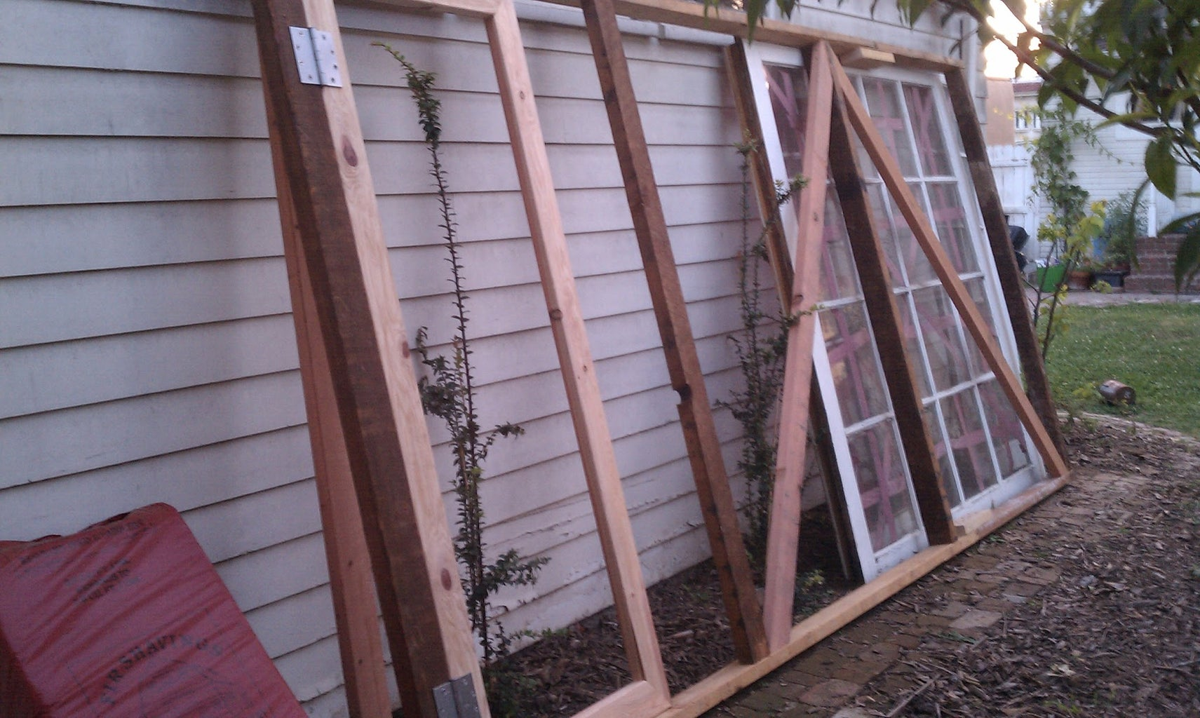 Build Frame for First Wall