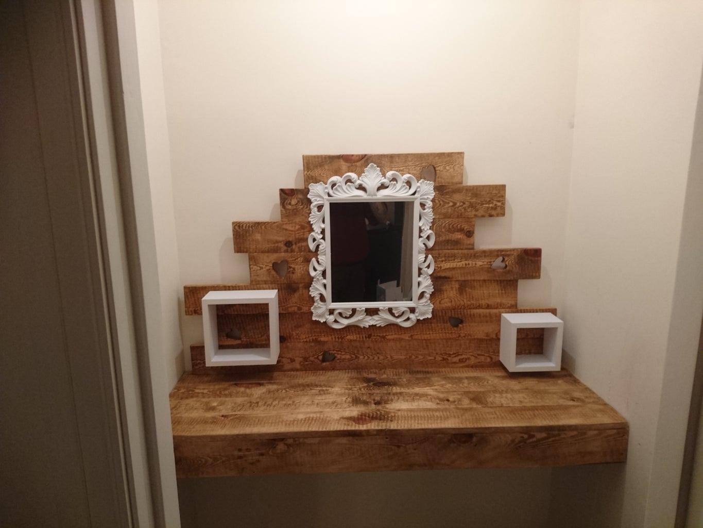 Add Shelves, Mirror..etc