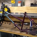 Rebuild Old Bicycle With Spare Parts
