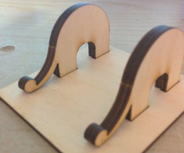 Elephant Laser Phonestand