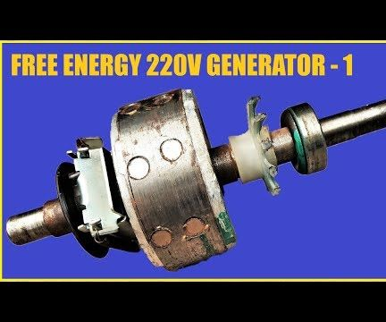 220V Induction Motor Into a Brushless Generator