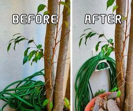 3D Printed Garden Hose Holder Using Tinkercad