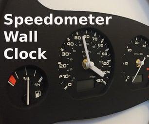 车速表壁钟