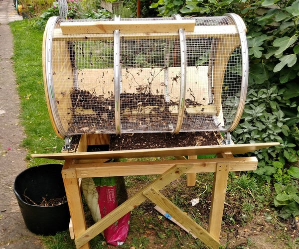 Compost Tumbler Sifter
