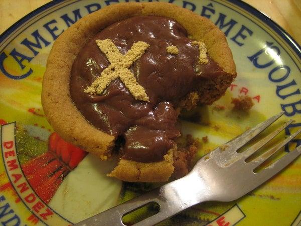 Inverse Peanut Butter Cup Pie
