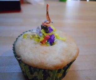 Ballistic Baking: Exploding Confetti Cupcakes