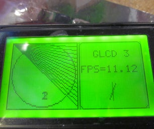 Arduino Powered GLCD (Graphic LCD) - I Made It at TechShop