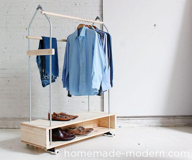 HomeMade Modern DIY Garment Rack
