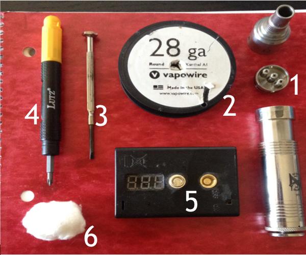 Rebuilding an Atomizer for Your Vaporizor