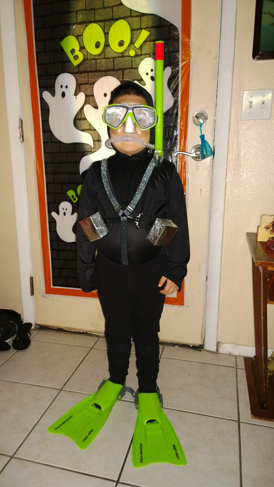 Best DIY Scuba Diver Costume for 5 Year Old