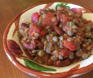 Madras Lentils, Low Sodium Version