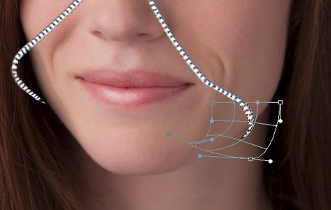 Add Zipper & Select Raw Face Area