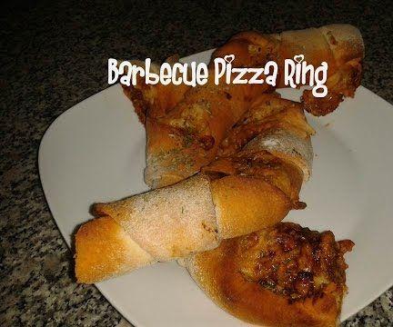 Barbecue Pizza Ring Recipe