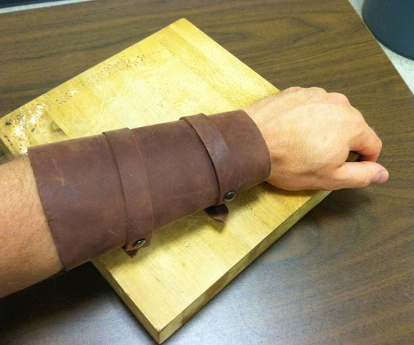 How To: Simple Leather Vambrace