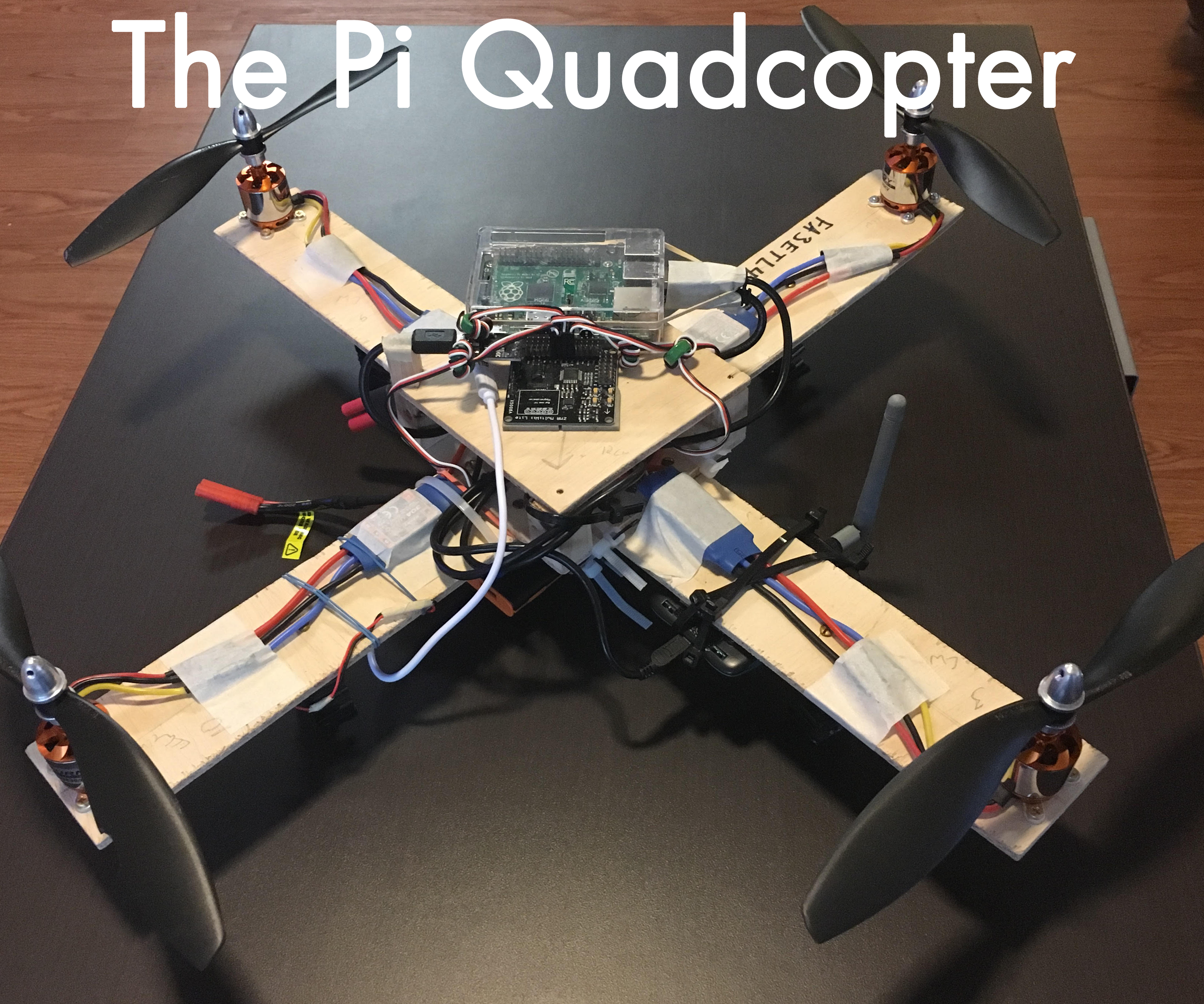 The Pi Quadcopter
