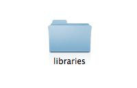 Creating Libraries Folder