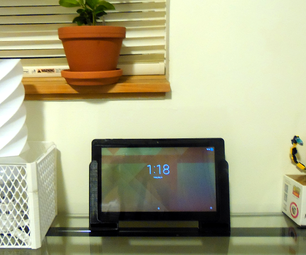 3D打印平板扬声器放大支架手柄