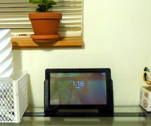 3D Printed Tablet Speaker Amplifying Stand Handles