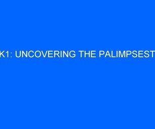 How to Solve Sanborn's Kryptos: Part 8 - K1 Palimpsest