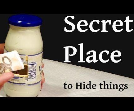 Secret Safe in the Jar   Sugru
