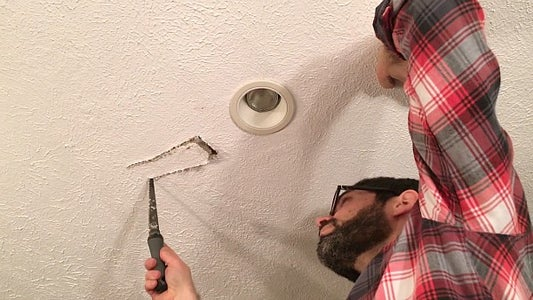 Saw a Small Hole or Rectangle in Your Drywall