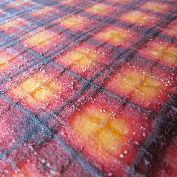 Patterned Fruit Leather
