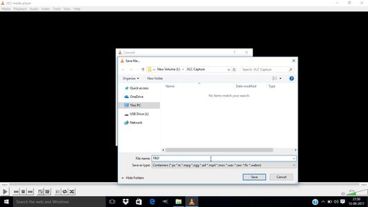 Select Your Output Destination Folder