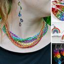 DIY Rainbow Jewelry