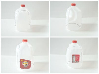 Milk Jug As Boxes and Baskets