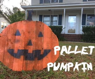 DIY Pallet Pumpkin