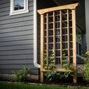 Building a Cedar Grape Trellis