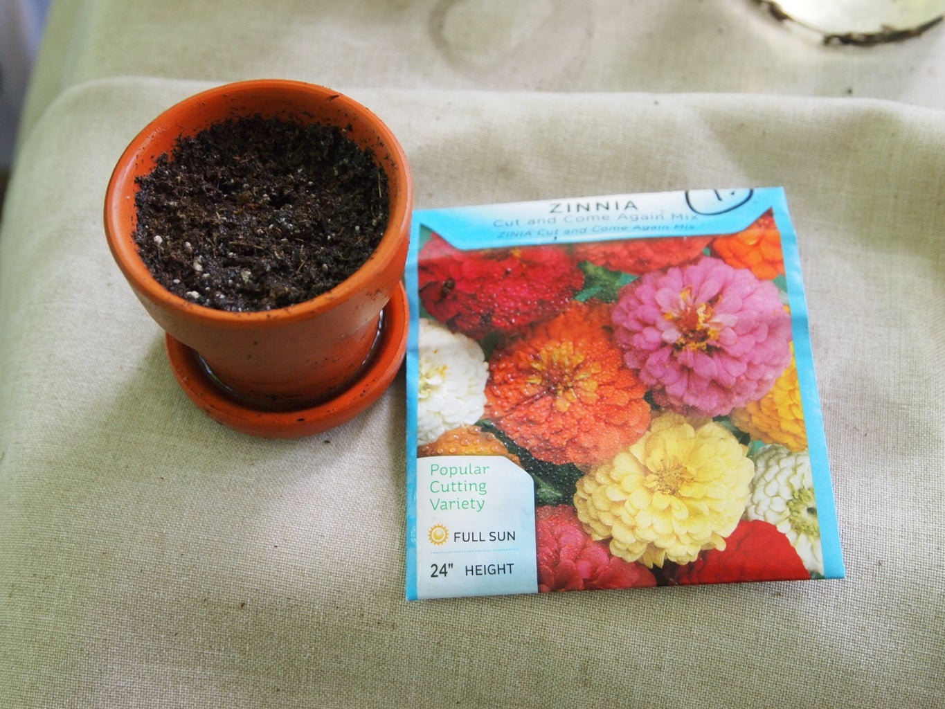 A Few Items Needed for Fast Seed Sprouting
