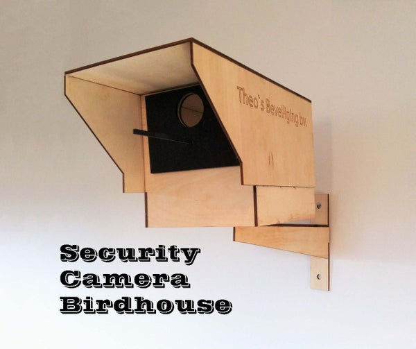 Security Camera Birdhouse