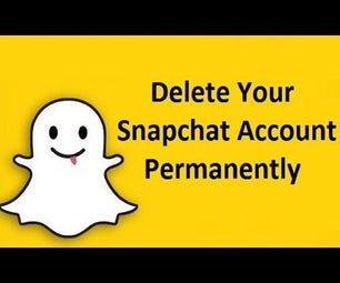 Delete Snapchat Account Permanently!!
