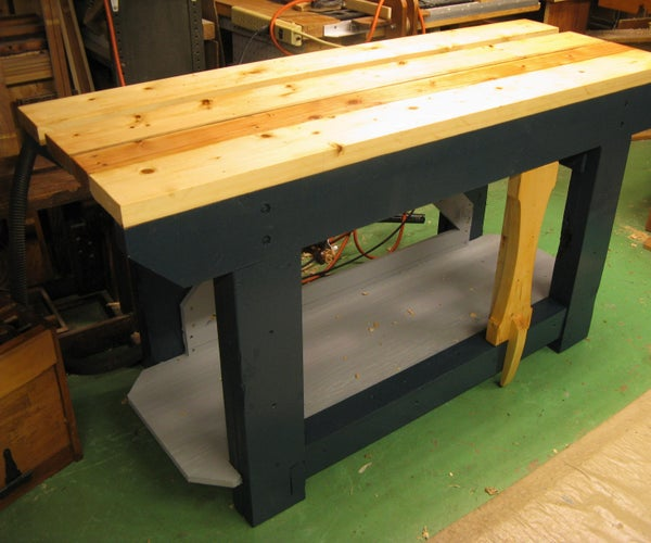 English-style Joinery Workbench