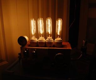 Steampunk Mad Scientist Lamp