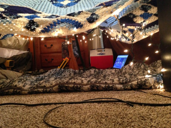 Awesome Blanket Fort!