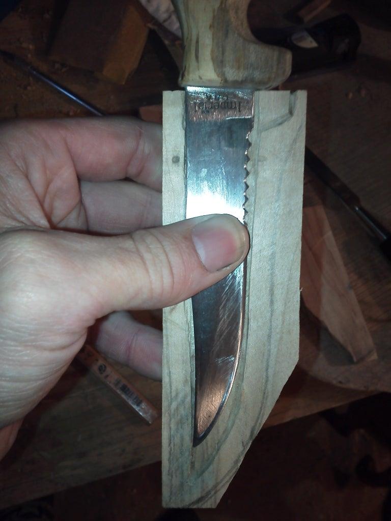 Rough Shaping the Sheath