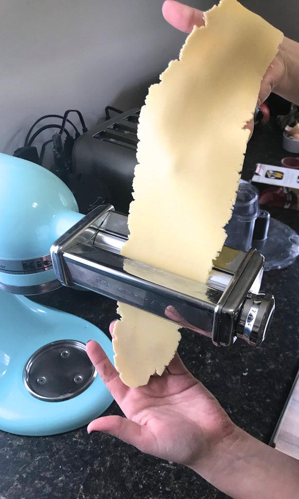 Rolling Out Pasta Sheets