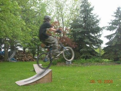 """finished!""build a Bike Skateboard Ect. Ramp"