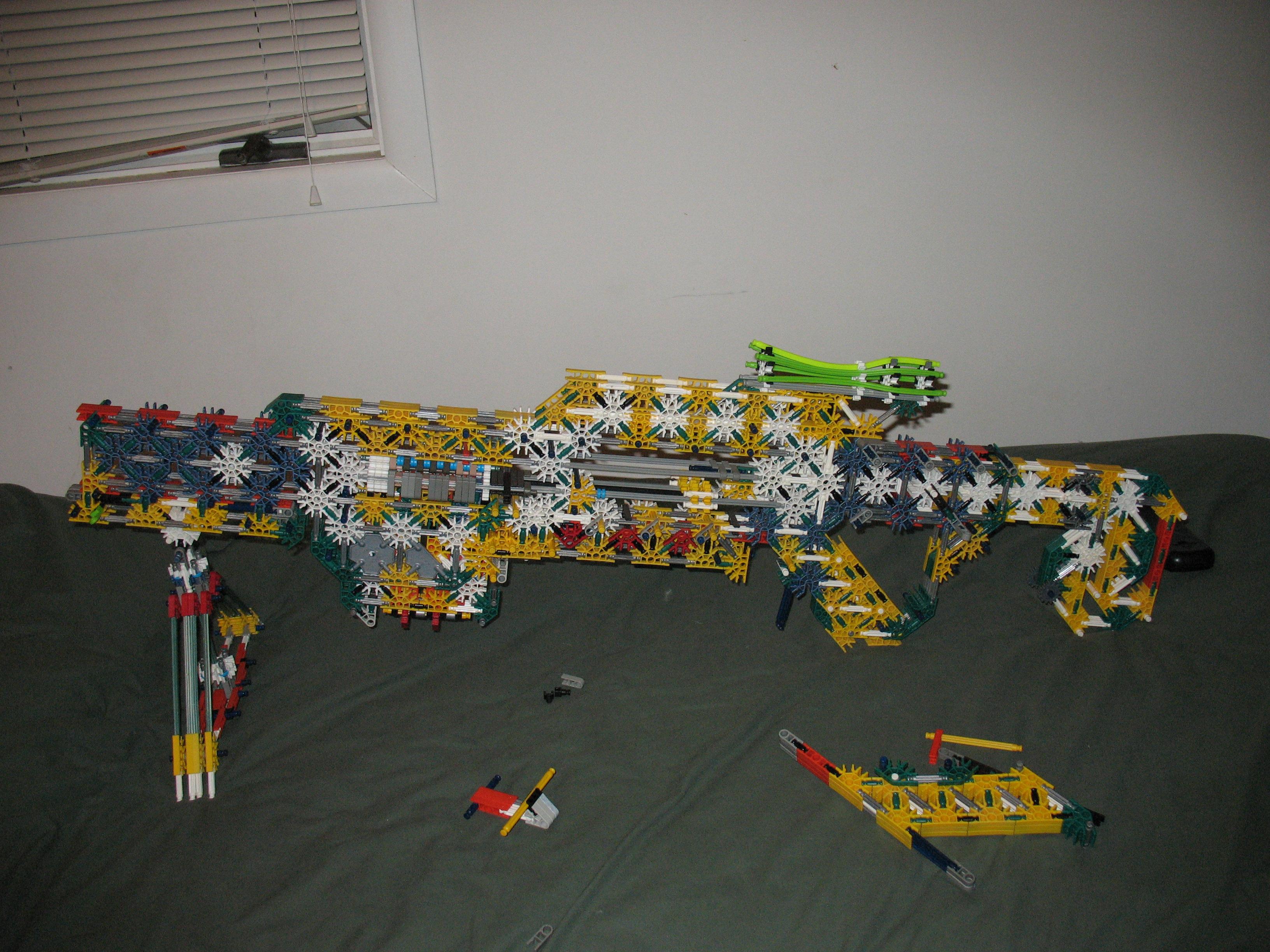 Project X Knex Rifle V2.