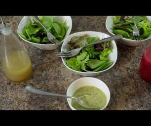 Simple, Delicious, and Healthy Salad Dressing
