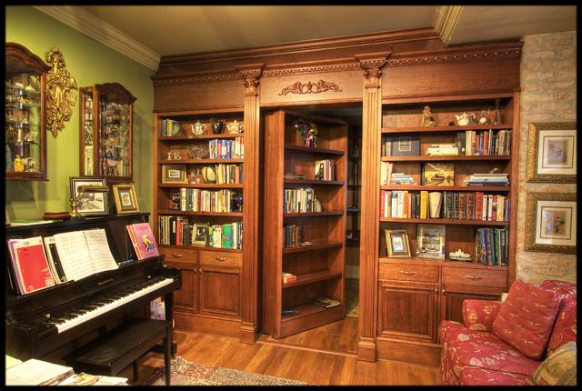 Bookcase door