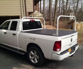 Kayak Truck Rack Works With Tonneau Cover