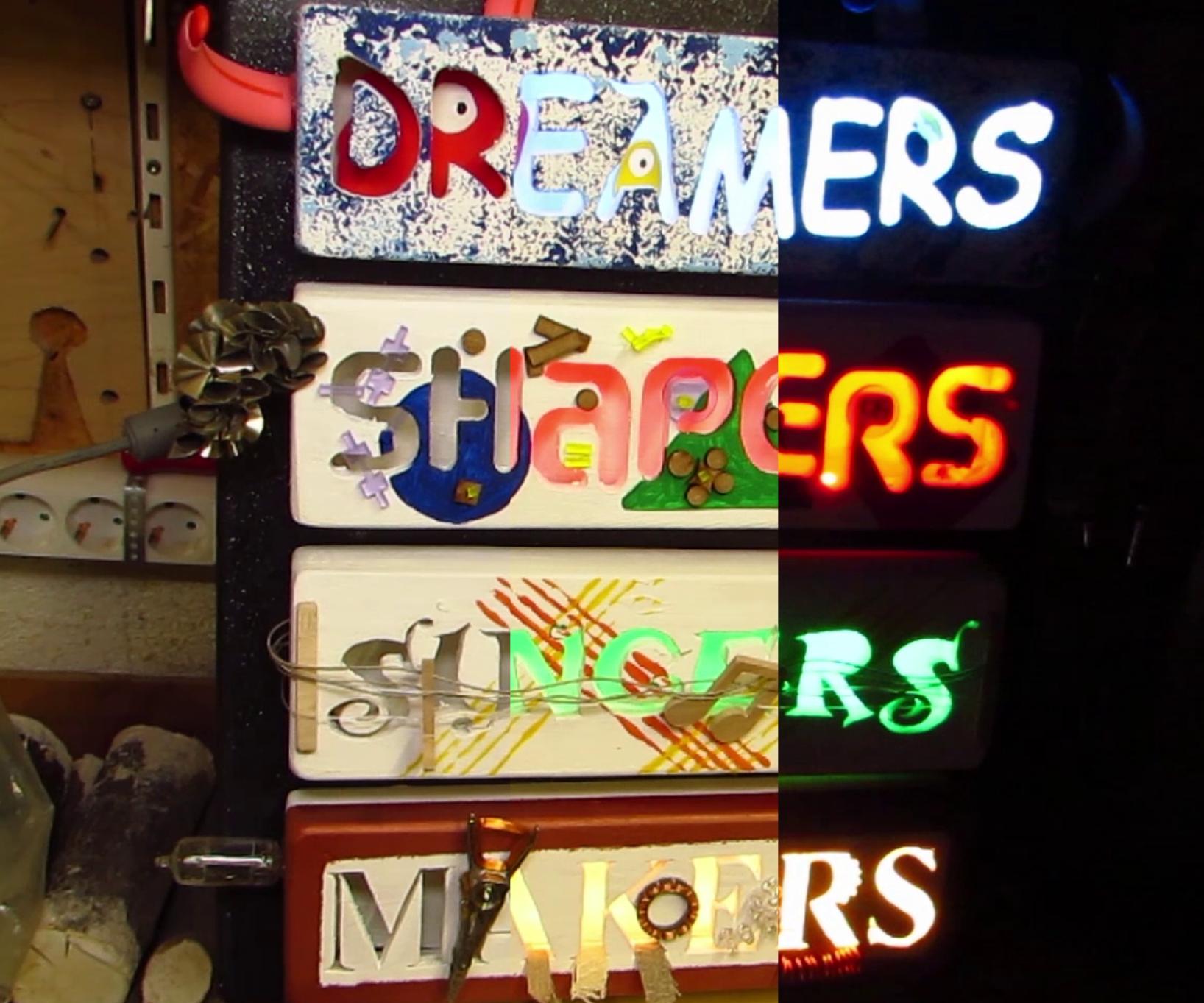 Dreamers, Shapers, Singers, Makers
