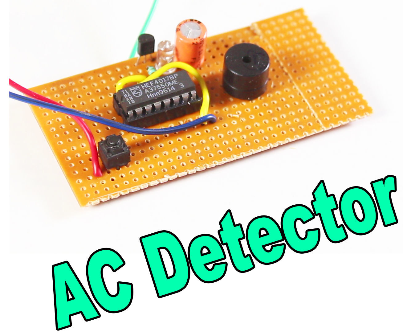 AC Detector Circuit With Awesome Application