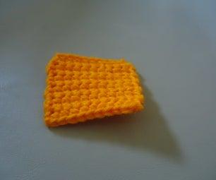 First Beginner Crochet Project: Single Crochet Square