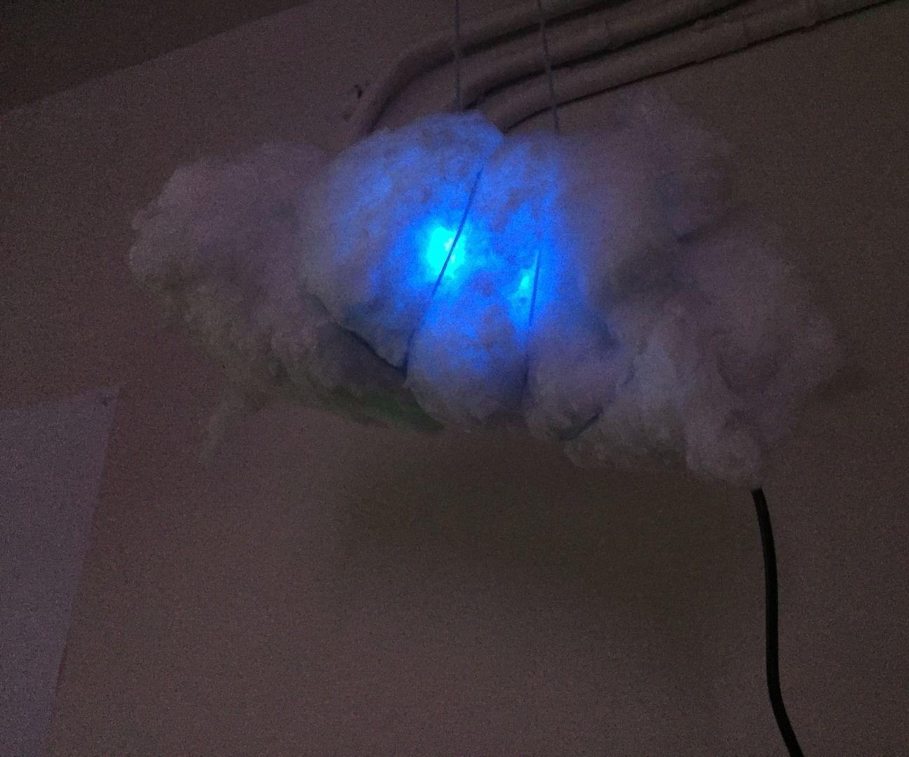 Glow Cloud Mini Lamp