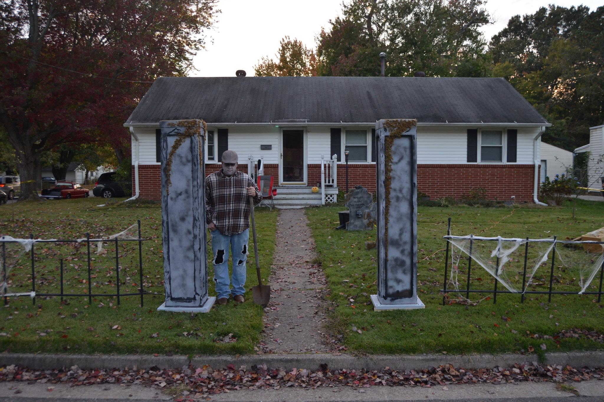 Cemetery Columns